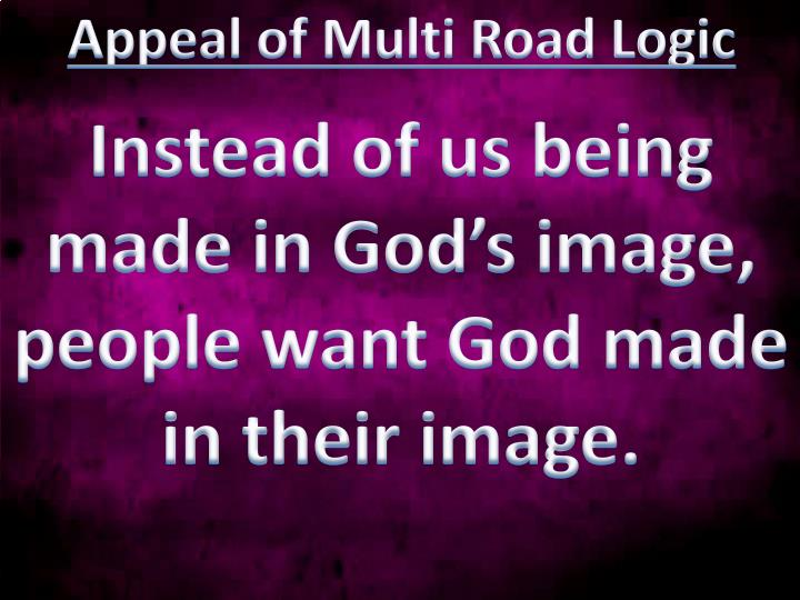 Appeal of Multi Road Logic