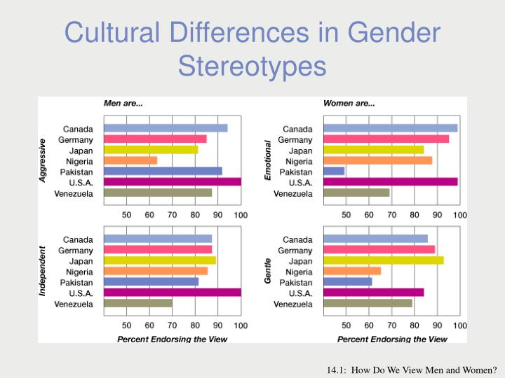 Cultural Differences in Gender Stereotypes