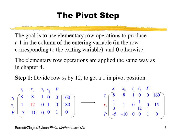 The Pivot Step