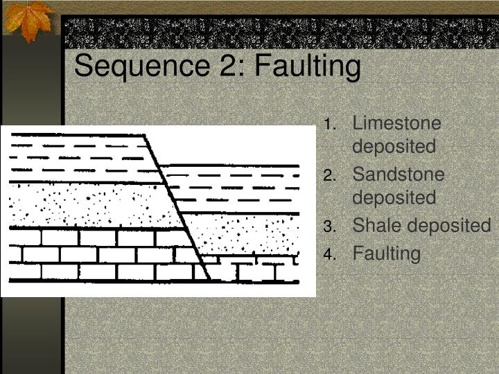 Sequence 2: Faulting