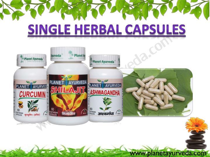 Single Herbal Capsules