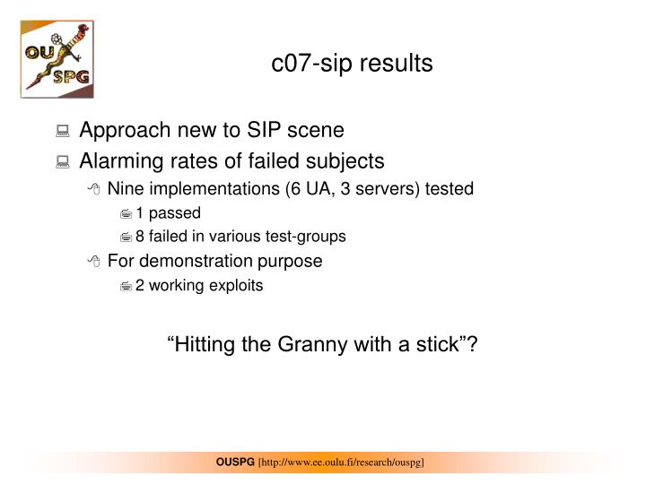 c07-sip results
