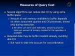 measures of query cost2