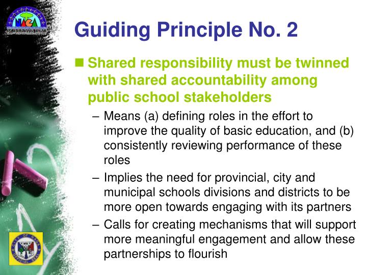 Guiding Principle No. 2
