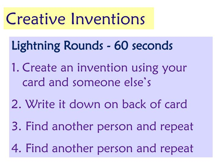 Creative Inventions