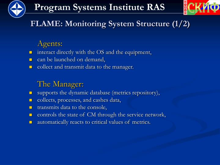 FLAME: Monitoring System Structure (1/2)