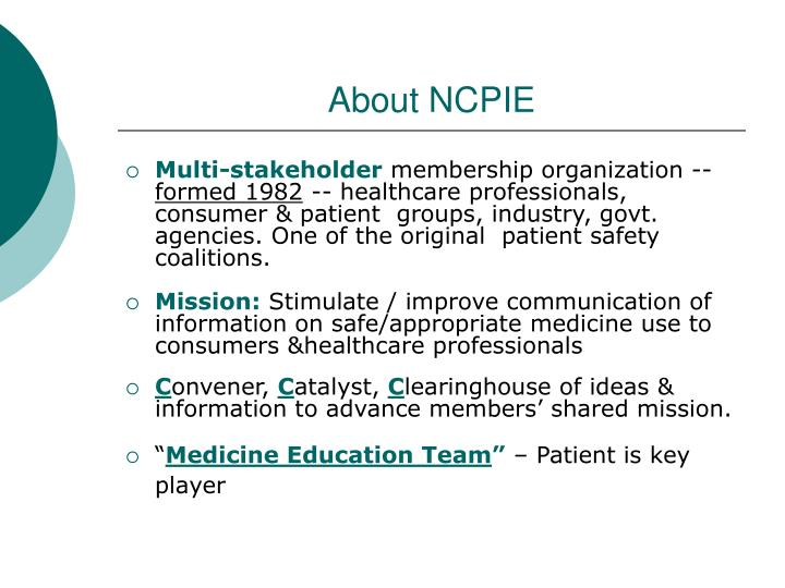 About ncpie