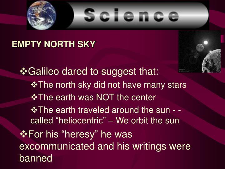 EMPTY NORTH SKY