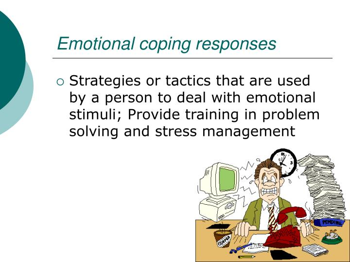 Emotional coping responses