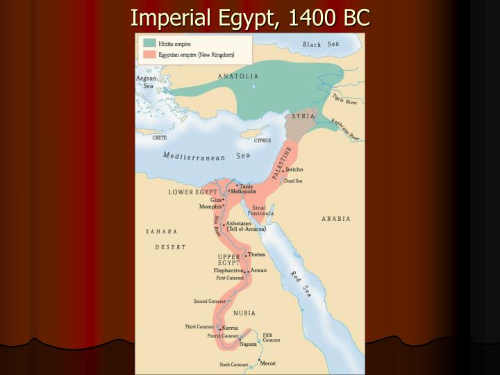 Imperial Egypt, 1400 BC