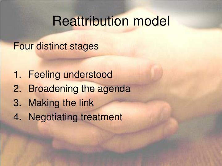 Reattribution model