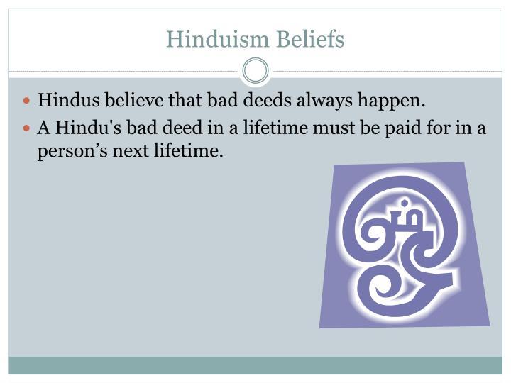 Hinduism Beliefs