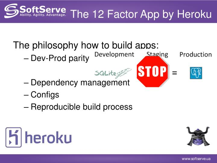 The 12 Factor App by Heroku