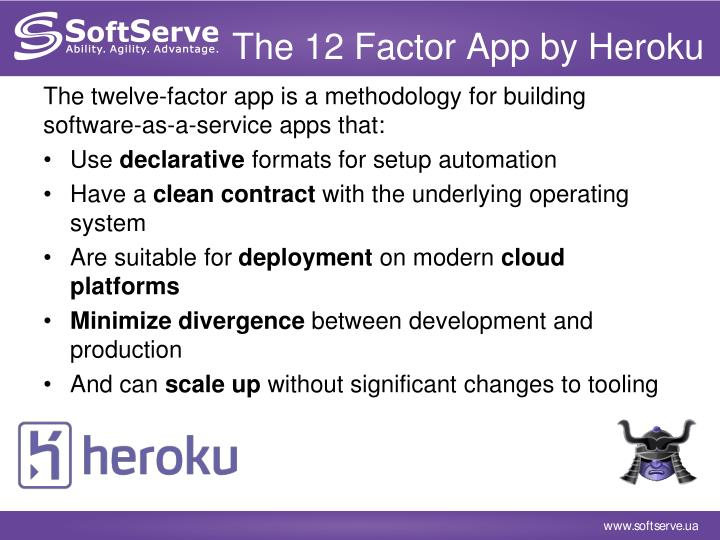 The 12 Factor App by