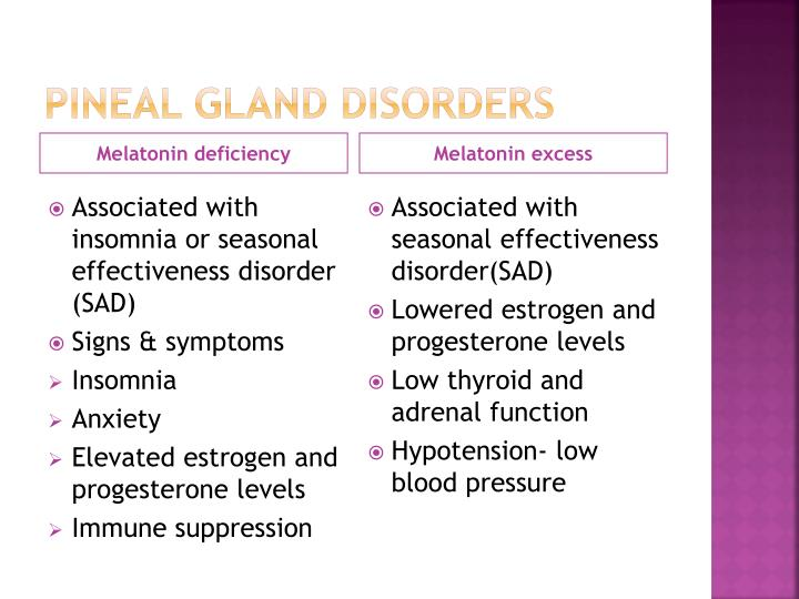 Pineal gland disorders