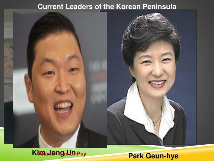 Current Leaders of the Korean Peninsula