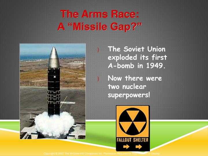 The Arms Race: