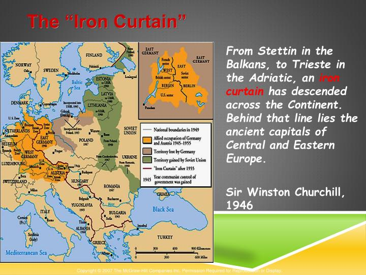 "The ""Iron Curtain"""