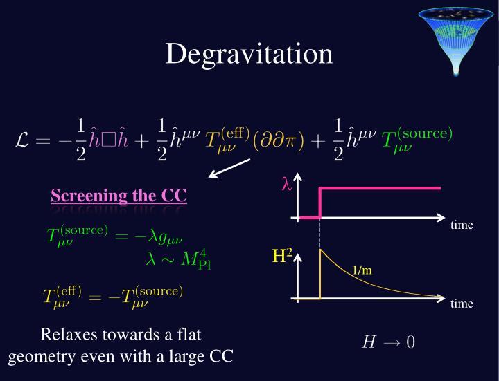 Degravitation