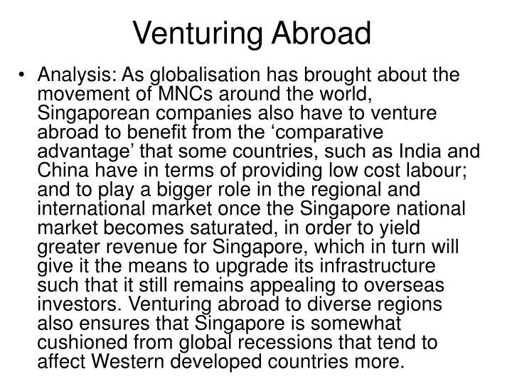 Venturing Abroad