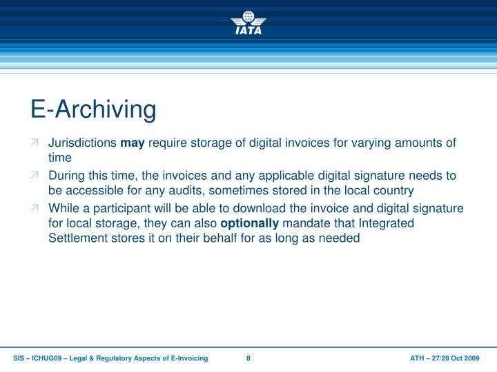 E-Archiving