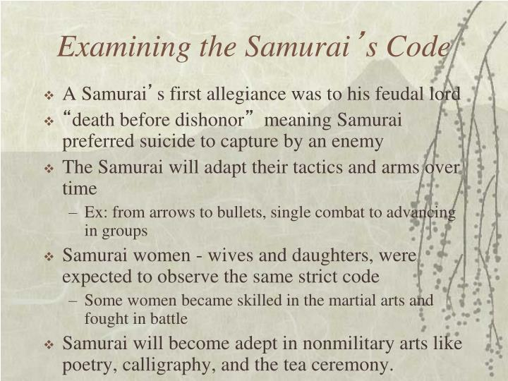 Examining the Samurai