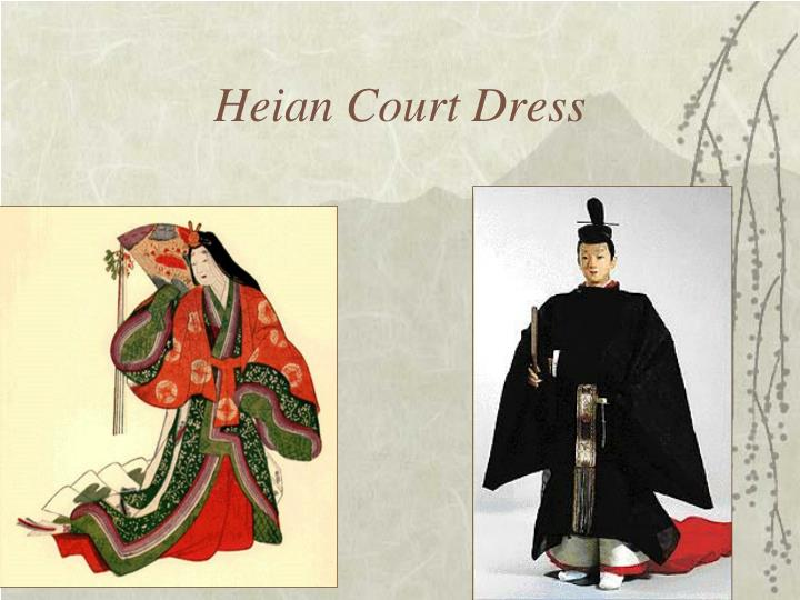 Heian Court Dress