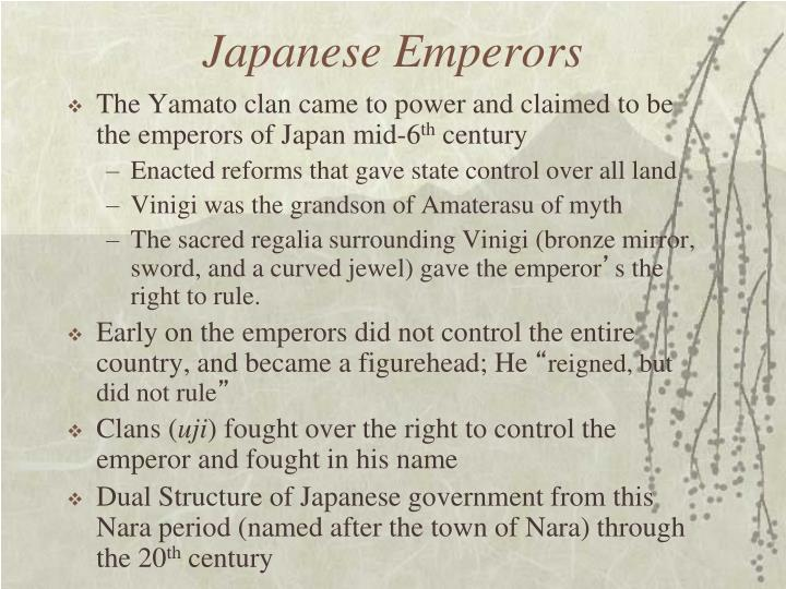 Japanese Emperors