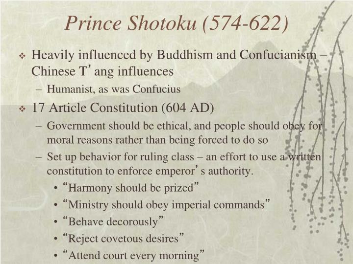 Prince Shotoku (574-622)