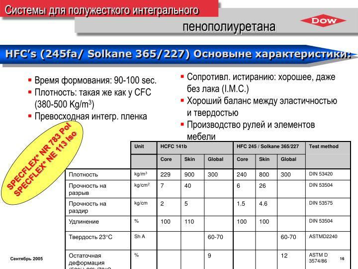 SPECFLEX* NR 783 Pol