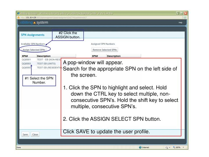 #2 Click the ASSIGN button.