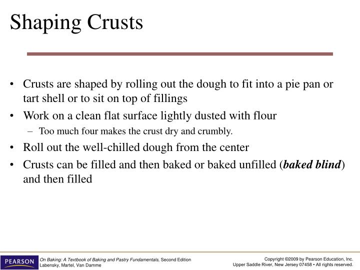 Shaping Crusts