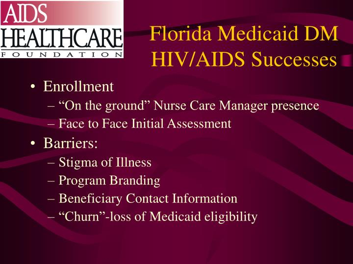 Florida Medicaid DM