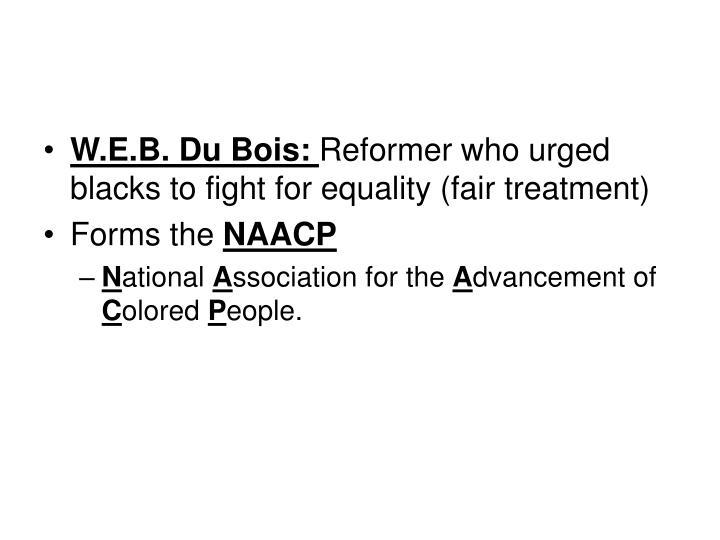 W.E.B. Du Bois: