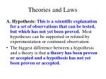 theories and laws1