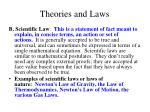 theories and laws2