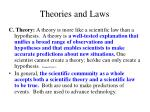 theories and laws3