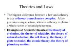 theories and laws4