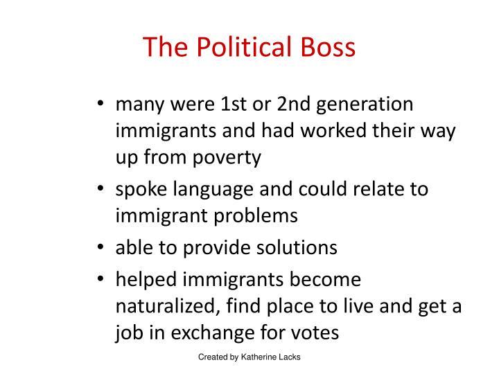 The Political Boss