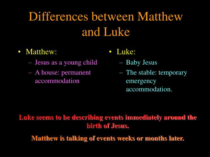 Matthew: