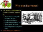 why then december1