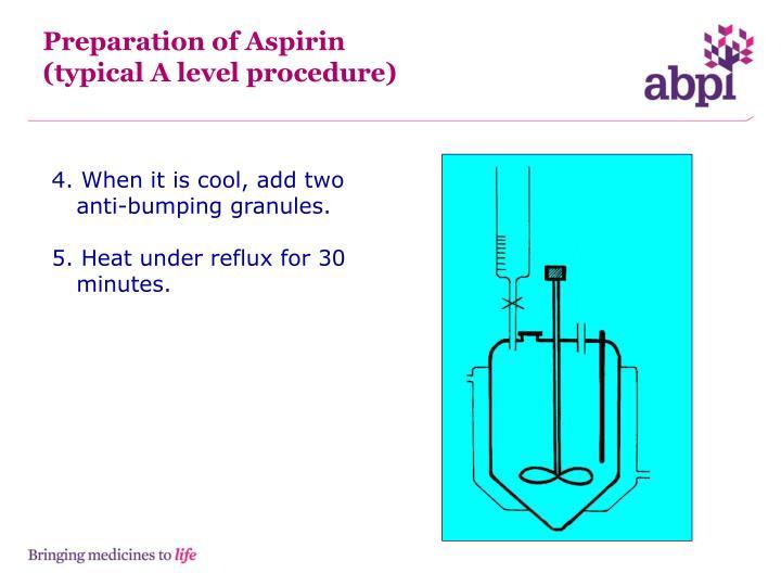 Preparation of Aspirin