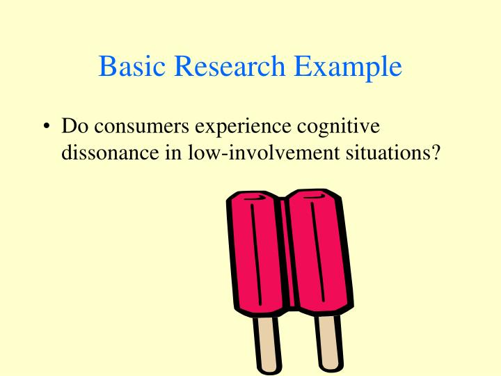 Basic Research Example
