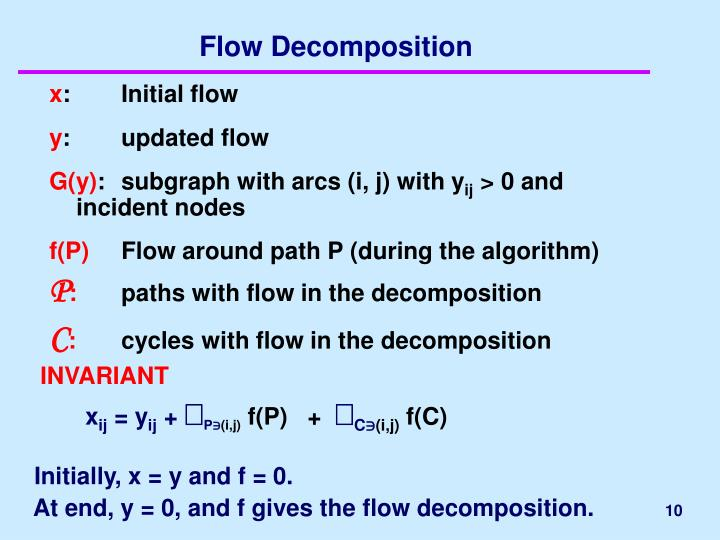 Flow Decomposition