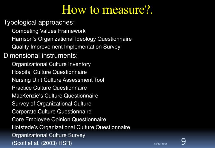 How to measure?.