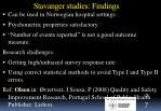 stavanger studies findings1