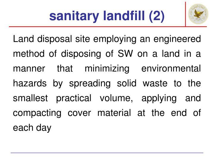 sanitary landfill (2)