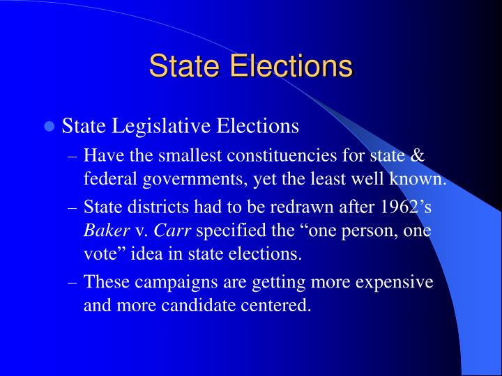 State Elections