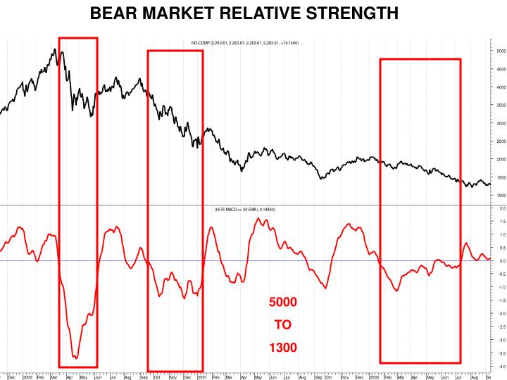 BEAR MARKET RELATIVE STRENGTH