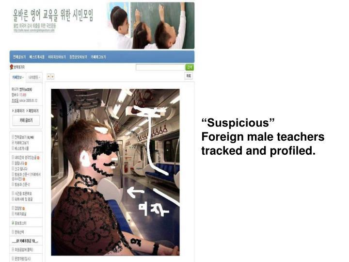 """""""Suspicious"""""""